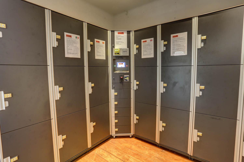 Deposito bagagli automatico in zona Vaticano