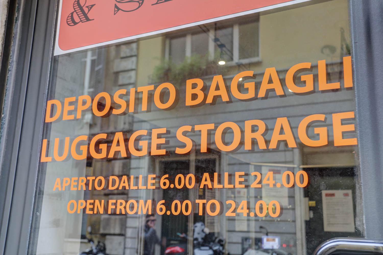 Servizio deposito e stoccaggio bagagli Roma